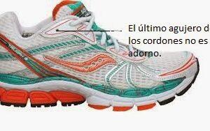 Como atar correctamente las zapatillas de correr.